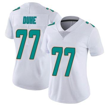 Women's Nike Miami Dolphins Adam Joseph Duhe White limited Vapor Untouchable Jersey -