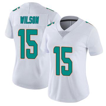 Women's Nike Miami Dolphins Albert Wilson White limited Vapor Untouchable Jersey -