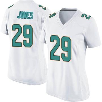 Women's Nike Miami Dolphins Brandon Jones White Jersey - Game