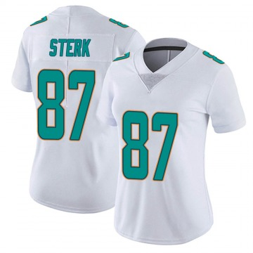 Women's Nike Miami Dolphins Bryce Sterk White limited Vapor Untouchable Jersey -
