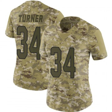 Women's Nike Miami Dolphins De'Lance Turner Camo 2018 Salute to Service Jersey - Limited
