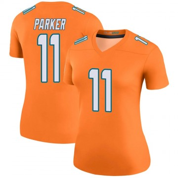 Women's Nike Miami Dolphins DeVante Parker Orange Color Rush Jersey - Legend