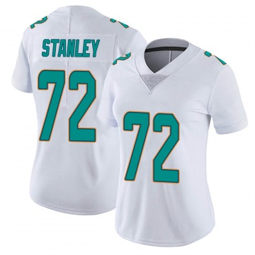 Women's Nike Miami Dolphins Donell Stanley White limited Vapor Untouchable Jersey -