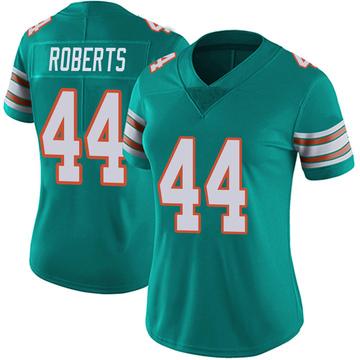 Women's Nike Miami Dolphins Elandon Roberts Aqua Alternate Vapor Untouchable Jersey - Limited