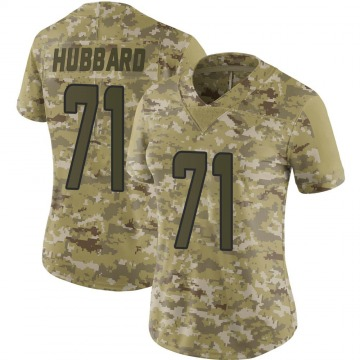 Women's Nike Miami Dolphins Jonathan Hubbard Camo 2018 Salute to Service Jersey - Limited