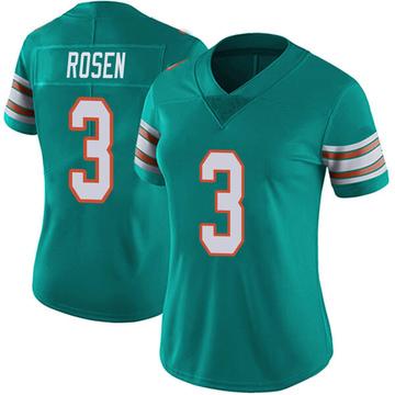 Women's Nike Miami Dolphins Josh Rosen Aqua Alternate Vapor Untouchable Jersey - Limited