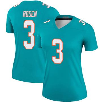 Women's Nike Miami Dolphins Josh Rosen Aqua Jersey - Legend