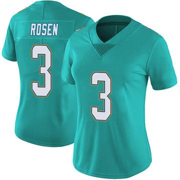 Women's Nike Miami Dolphins Josh Rosen Aqua Team Color Vapor Untouchable Jersey - Limited