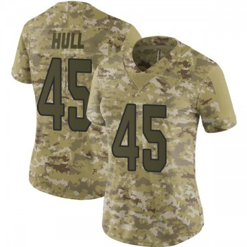 Women's Nike Miami Dolphins Mike Hull Camo 2018 Salute to Service Jersey - Limited