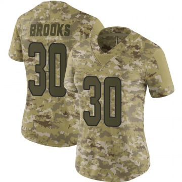 Women's Nike Miami Dolphins Nate Brooks Camo 2018 Salute to Service Jersey - Limited