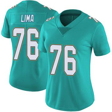 Women's Nike Miami Dolphins Ray Lima Aqua Team Color Vapor Untouchable Jersey - Limited