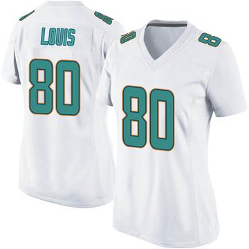 Women's Nike Miami Dolphins Ricardo Louis White Jersey - Game