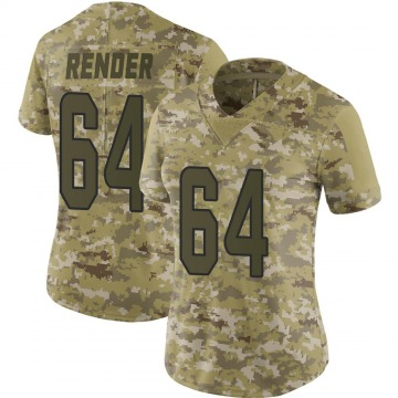 Women's Nike Miami Dolphins Tyshun Render Camo 2018 Salute to Service Jersey - Limited