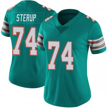 Women's Nike Miami Dolphins Zach Sterup Aqua Alternate Vapor Untouchable Jersey - Limited