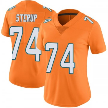Women's Nike Miami Dolphins Zach Sterup Orange Color Rush Jersey - Limited