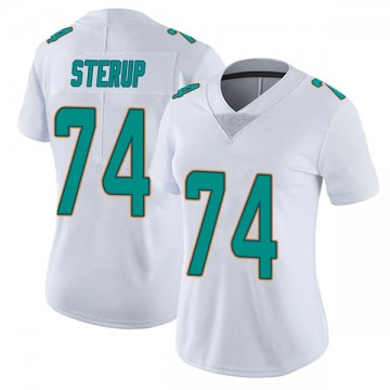Women's Nike Miami Dolphins Zach Sterup White limited Vapor Untouchable Jersey -