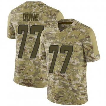Youth Nike Miami Dolphins Adam Joseph Duhe Camo 2018 Salute to Service Jersey - Limited