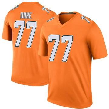 Youth Nike Miami Dolphins Adam Joseph Duhe Orange Color Rush Jersey - Legend