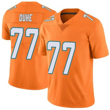 Youth Nike Miami Dolphins Adam Joseph Duhe Orange Color Rush Jersey - Limited