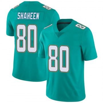 Youth Nike Miami Dolphins Adam Shaheen Aqua Team Color Vapor Untouchable Jersey - Limited