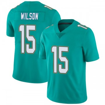 Youth Nike Miami Dolphins Albert Wilson Aqua Team Color Vapor Untouchable Jersey - Limited