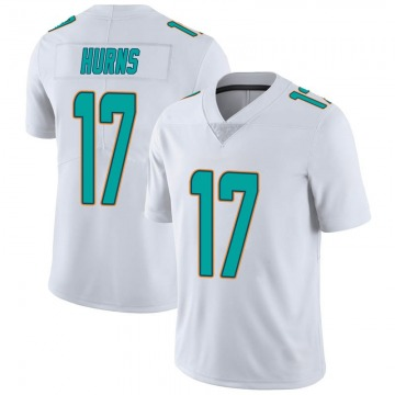 Youth Nike Miami Dolphins Allen Hurns White limited Vapor Untouchable Jersey -