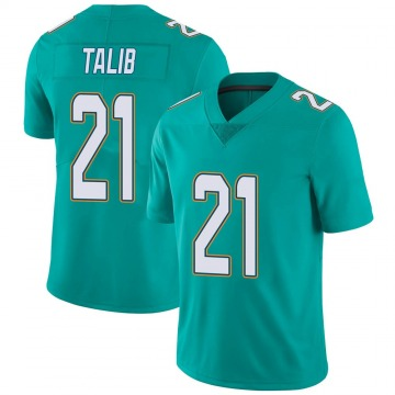 Youth Nike Miami Dolphins Aqib Talib Aqua Team Color Vapor Untouchable Jersey - Limited