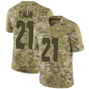 Youth Nike Miami Dolphins Aqib Talib Camo 2018 Salute to Service Jersey - Limited