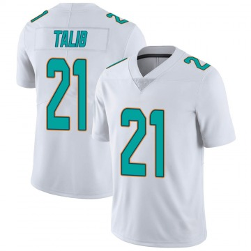 Youth Nike Miami Dolphins Aqib Talib White limited Vapor Untouchable Jersey -