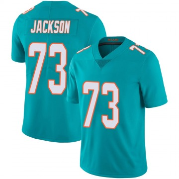 Youth Nike Miami Dolphins Austin Jackson Aqua Team Color 100th Vapor Untouchable Jersey - Limited