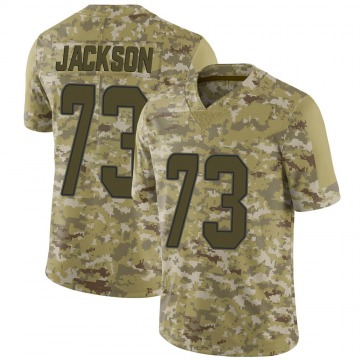 Youth Nike Miami Dolphins Austin Jackson Camo 2018 Salute to Service Jersey - Limited
