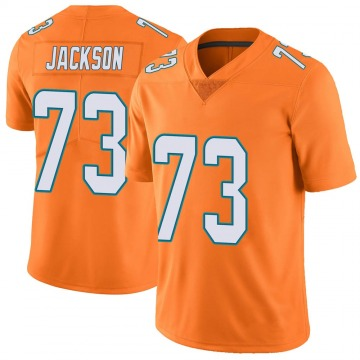Youth Nike Miami Dolphins Austin Jackson Orange Color Rush Jersey - Limited