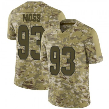 Youth Nike Miami Dolphins Avery Moss Camo 2018 Salute to Service Jersey - Limited