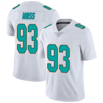 Youth Nike Miami Dolphins Avery Moss White limited Vapor Untouchable Jersey -