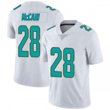 Youth Nike Miami Dolphins Bobby McCain White limited Vapor Untouchable Jersey -