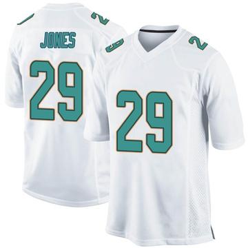 Youth Nike Miami Dolphins Brandon Jones White Jersey - Game