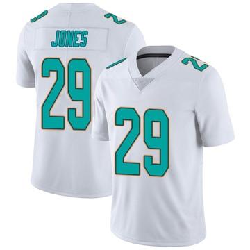 Youth Nike Miami Dolphins Brandon Jones White limited Vapor Untouchable Jersey -