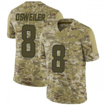 Youth Nike Miami Dolphins Brock Osweiler Camo 2018 Salute to Service Jersey - Limited