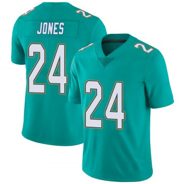 Youth Nike Miami Dolphins Byron Jones Aqua Team Color Vapor Untouchable Jersey - Limited