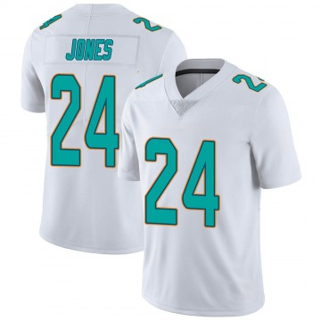 Youth Nike Miami Dolphins Byron Jones White limited Vapor Untouchable Jersey -