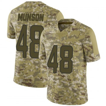 Youth Nike Miami Dolphins Calvin Munson Camo 2018 Salute to Service Jersey - Limited