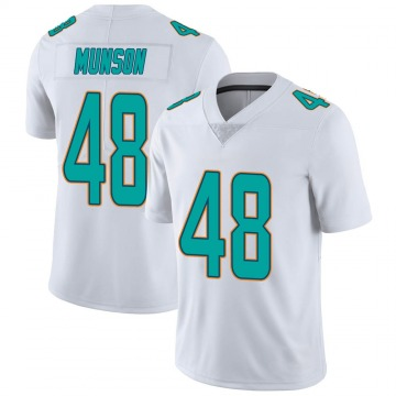 Youth Nike Miami Dolphins Calvin Munson White limited Vapor Untouchable Jersey -