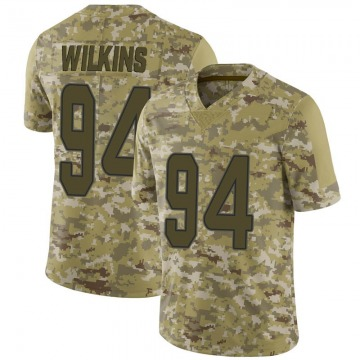 Youth Nike Miami Dolphins Christian Wilkins Camo 2018 Salute to Service Jersey - Limited