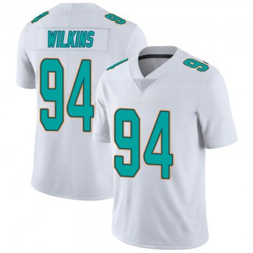 Youth Nike Miami Dolphins Christian Wilkins White limited Vapor Untouchable Jersey -