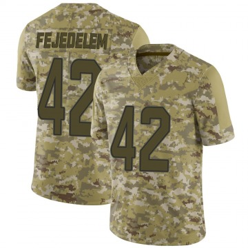 Youth Nike Miami Dolphins Clayton Fejedelem Camo 2018 Salute to Service Jersey - Limited