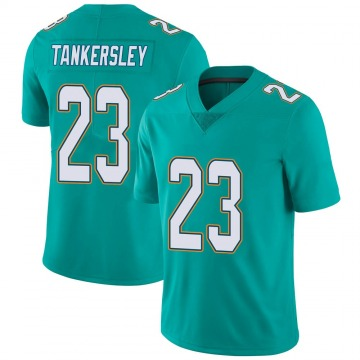 Youth Nike Miami Dolphins Cordrea Tankersley Aqua Team Color Vapor Untouchable Jersey - Limited