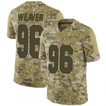 Youth Nike Miami Dolphins Curtis Weaver Camo 2018 Salute to Service Jersey - Limited