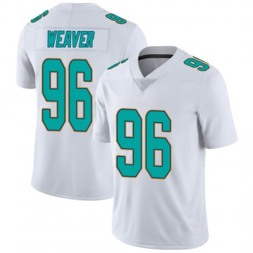 Youth Nike Miami Dolphins Curtis Weaver White limited Vapor Untouchable Jersey -