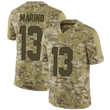 Youth Nike Miami Dolphins Dan Marino Camo 2018 Salute to Service Jersey - Limited