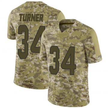 Youth Nike Miami Dolphins De'Lance Turner Camo 2018 Salute to Service Jersey - Limited